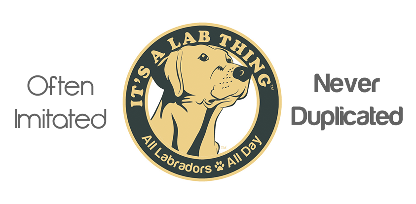 It's A Lab Thing black often imitated