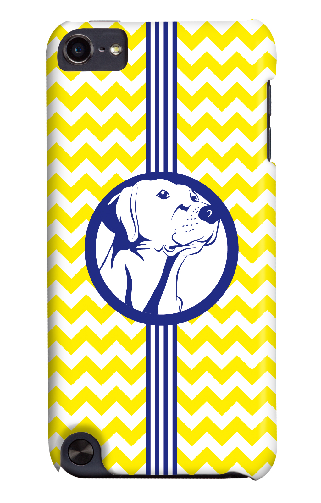 It's a Lab Thing Labador iphone case yellow-navy 3 shades of dog
