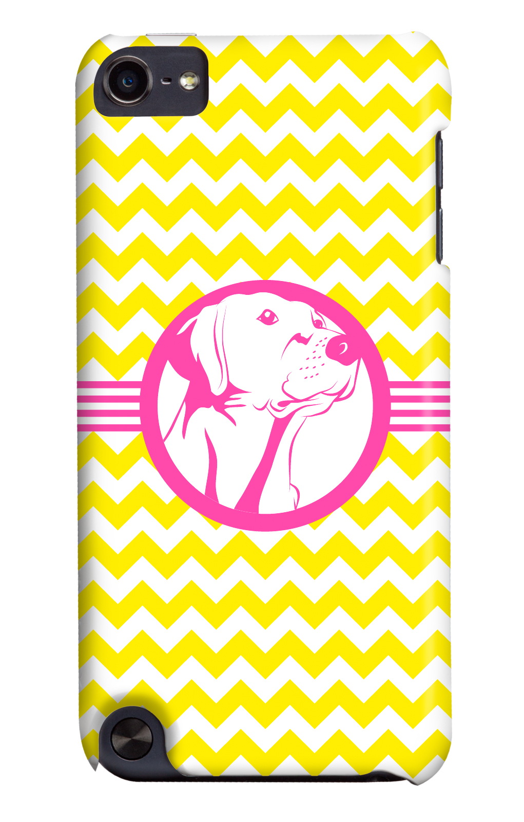 It's a Lab Thing Labrador iphone case 3 shades of dog yellow chevron-pink