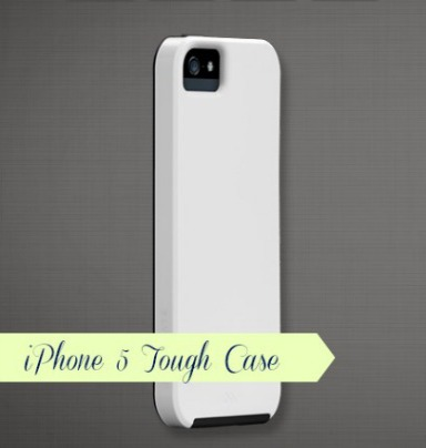 blank iphone 5 revised and sized tough case 2