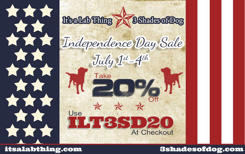 It's a Lab Thing 3 Shades of Dog July 4th Labrador Store Sale FB